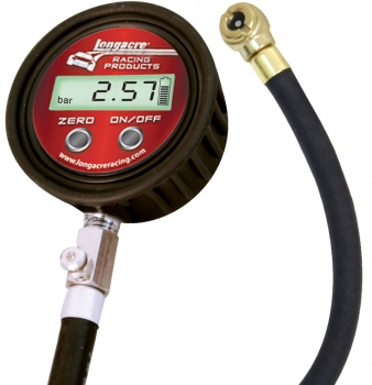 Metric Digital Tire Gauge with Ball Chuck