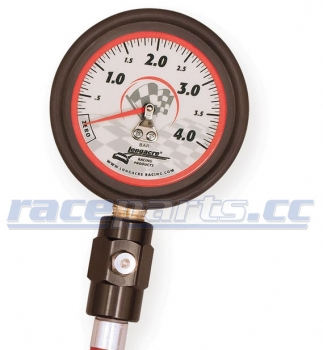 "2,5"" Metric Gauge 0-4 bar with Ball Chuck"