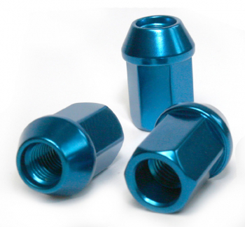 Aluminium Wheel nuts