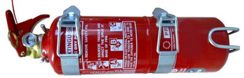handheld extinguisher, 2.0 kg powder
