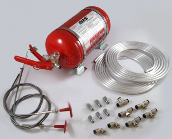 Mechanical Extinguishing System, 4.25 litre, Steel