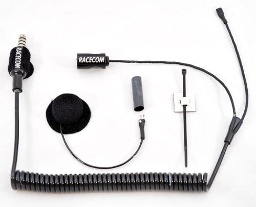 RACECOM Helmet Kit, dynamic Microphone